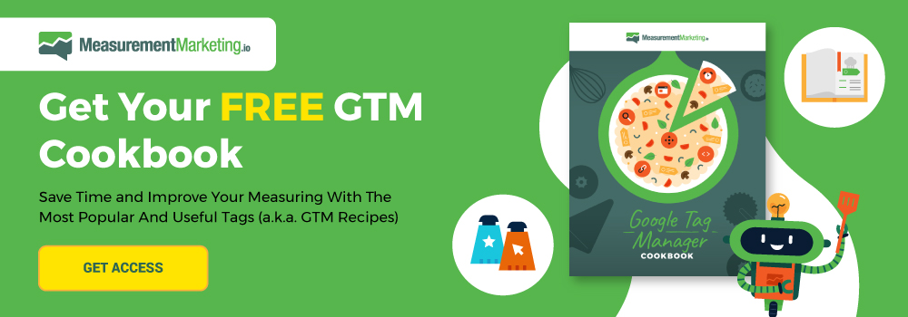Get your FREE GTM Cookbook