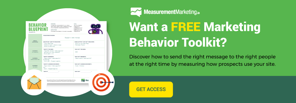 Need some help tracking how your ideal prospects behave on your funnel pages? Marketing Behavior Toolkit Free download